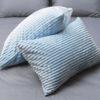 Комплект постельного белья зима-лето Light blue 6 Постельный комплект