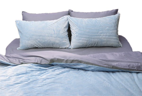 Комплект постельного белья зима-лето Light blue 1 Постельный комплект