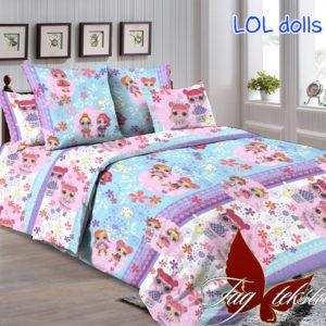 Комплект постельного белья Lol dolls  ПОСТЕЛЬНОЕ БЕЛЬЕ И ТОВАРЫ ДЛЯ ДЕТЕЙ > 1.5-спальные 160х220