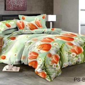 Комплект постельного белья PS-B7154  ПОСТЕЛЬНОЕ БЕЛЬЕ ТМ TAG > 2-спальные > Полисатин 3D