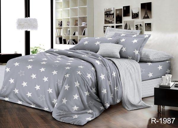 Комплект постельного белья с компаньоном R1987  ПОСТЕЛЬНОЕ БЕЛЬЕ ТМ TAG > 2-спальные > Ренфорс