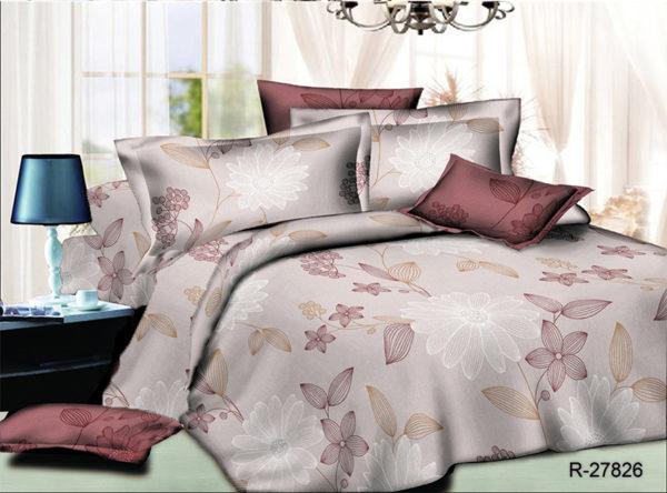 Комплект постельного белья R27826  ПОСТЕЛЬНОЕ БЕЛЬЕ ТМ TAG > 1.5-спальные > Ренфорс