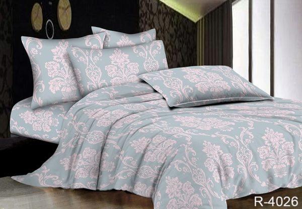 Комплект постельного белья R4026  ПОСТЕЛЬНОЕ БЕЛЬЕ ТМ TAG > 2-спальные > Ренфорс