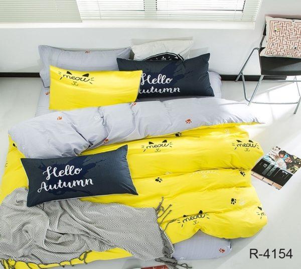 Комплект постельного белья с компаньоном R4154  ПОСТЕЛЬНОЕ БЕЛЬЕ ТМ TAG > 2-спальные > Ренфорс