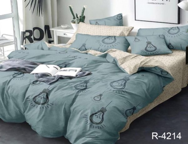 Комплект постельного белья с компаньоном R4214  ПОСТЕЛЬНОЕ БЕЛЬЕ ТМ TAG > 1.5-спальные > Ренфорс