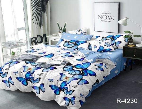 Комплект постельного белья с компаньоном R4230  ПОСТЕЛЬНОЕ БЕЛЬЕ ТМ TAG > 2-спальные > Ренфорс