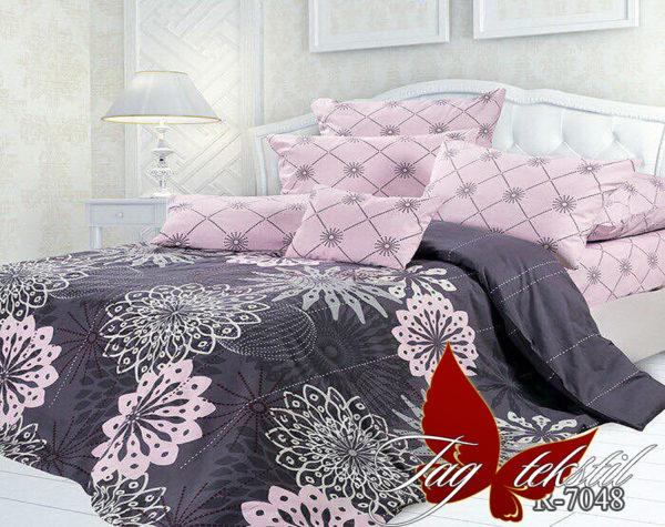 Комплект постельного белья с компаньоном R7048  ПОСТЕЛЬНОЕ БЕЛЬЕ ТМ TAG > 2-спальные > Ренфорс