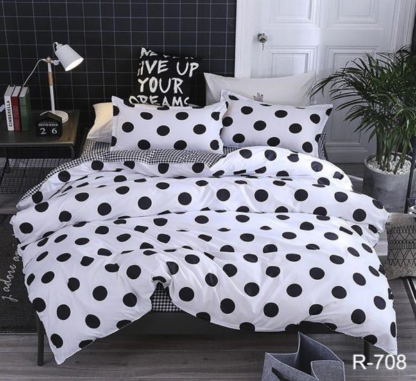 Комплект постельного белья с компаньоном R708  ПОСТЕЛЬНОЕ БЕЛЬЕ ТМ TAG > 2-спальные > Ренфорс