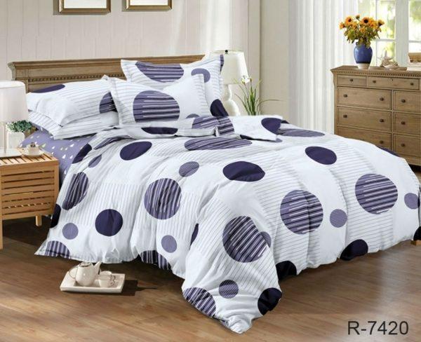 Комплект постельного белья с компаньоном R7420  ПОСТЕЛЬНОЕ БЕЛЬЕ ТМ TAG > 2-спальные > Ренфорс