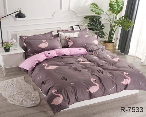 Комплект постельного белья с компаньоном R7533  ПОСТЕЛЬНОЕ БЕЛЬЕ ТМ TAG > 2-спальные > Ренфорс