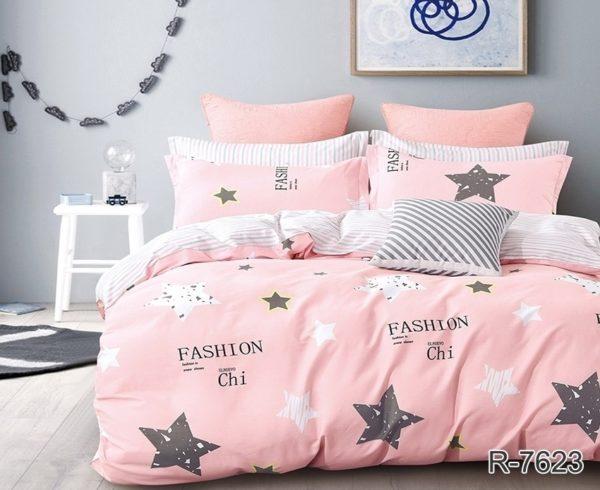 Комплект постельного белья с компаньоном R7623  ПОСТЕЛЬНОЕ БЕЛЬЕ ТМ TAG > 2-спальные > Ренфорс