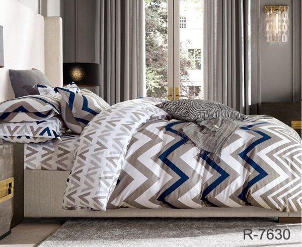 Комплект постельного белья с компаньоном R7630  ПОСТЕЛЬНОЕ БЕЛЬЕ ТМ TAG > 2-спальные > Ренфорс