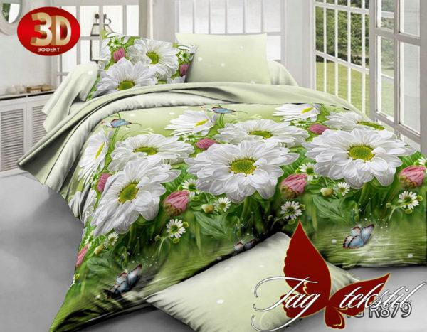 Комплект постельного белья R879  ПОСТЕЛЬНОЕ БЕЛЬЕ ТМ TAG > 1.5-спальные > Ренфорс