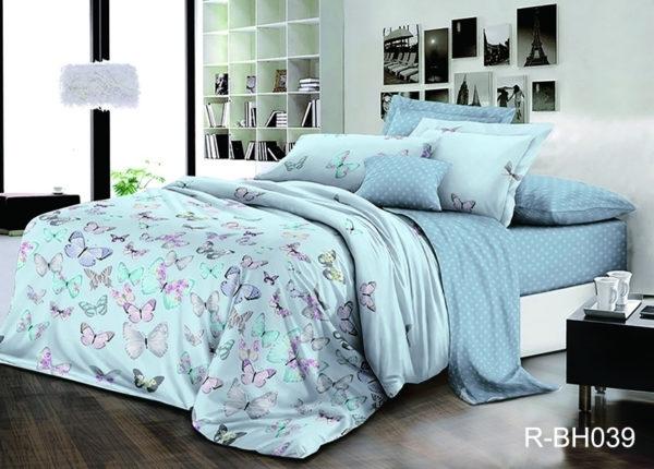 Комплект постельного белья с компаньоном R-BH039  ПОСТЕЛЬНОЕ БЕЛЬЕ ТМ TAG > 2-спальные > Ренфорс
