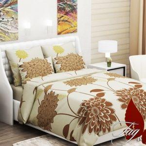 Комплект постельного белья (1.5сп) RC-E62beg  ПОСТЕЛЬНОЕ БЕЛЬЕ ТМ TAG > 1.5-спальные > Ренфорс