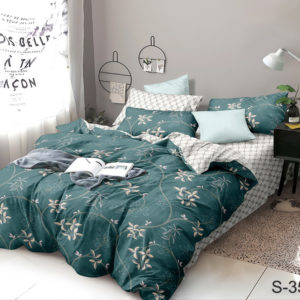 Комплект постельного белья с компаньоном S352  ПОСТЕЛЬНОЕ БЕЛЬЕ ТМ TAG > 1.5-спальные > Сатин люкс ТМ TAG