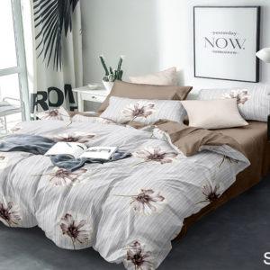 Комплект постельного белья с компаньоном S355  ПОСТЕЛЬНОЕ БЕЛЬЕ ТМ TAG > 1.5-спальные > Сатин люкс ТМ TAG