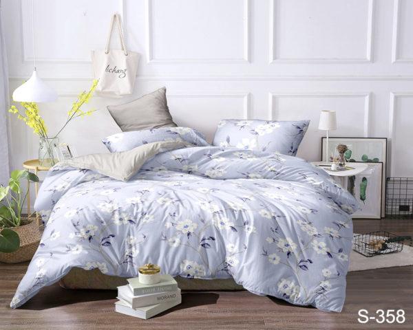 Комплект постельного белья с компаньоном S358  ПОСТЕЛЬНОЕ БЕЛЬЕ ТМ TAG > 2-спальные > Сатин люкс ТМ TAG