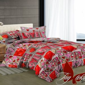 Комплект постельного белья S-138  ПОСТЕЛЬНОЕ БЕЛЬЕ ТМ TAG > 1.5-спальные > Сатин люкс ТМ TAG