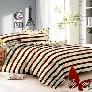 Комплект постельного белья с компаньоном S-142  ПОСТЕЛЬНОЕ БЕЛЬЕ ТМ TAG > 1.5-спальные > Сатин люкс ТМ TAG