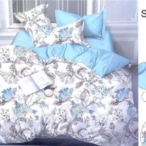 Комплект постельного белья с компаньоном S313  ПОСТЕЛЬНОЕ БЕЛЬЕ ТМ TAG > 1.5-спальные > Сатин люкс ТМ TAG