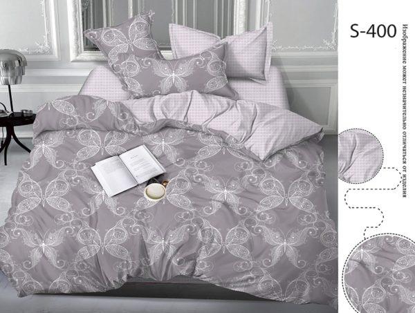 Комплект постельного белья с компаньоном S400  ПОСТЕЛЬНОЕ БЕЛЬЕ ТМ TAG > 2-спальные > Сатин люкс ТМ TAG