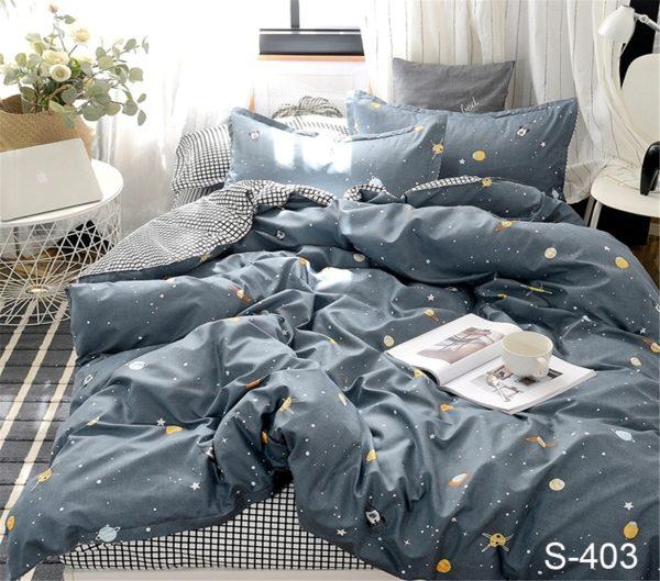 Комплект постельного белья с компаньоном S403  ПОСТЕЛЬНОЕ БЕЛЬЕ ТМ TAG > 2-спальные > Сатин люкс ТМ TAG