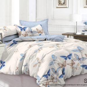 Комплект постельного белья с компаньоном S404  ПОСТЕЛЬНОЕ БЕЛЬЕ ТМ TAG > 2-спальные > Сатин люкс ТМ TAG