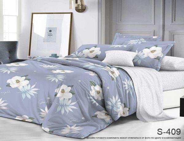 Комплект постельного белья с компаньоном S409  ПОСТЕЛЬНОЕ БЕЛЬЕ ТМ TAG > 2-спальные > Сатин люкс ТМ TAG