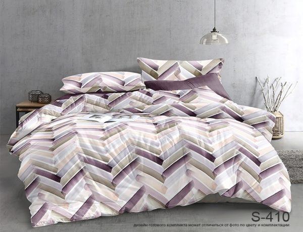 Комплект постельного белья с компаньоном S410  ПОСТЕЛЬНОЕ БЕЛЬЕ ТМ TAG > 2-спальные > Сатин люкс ТМ TAG
