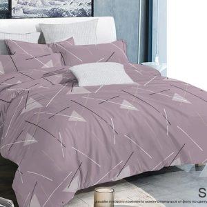 Комплект постельного белья с компаньоном S411  ПОСТЕЛЬНОЕ БЕЛЬЕ ТМ TAG > 2-спальные > Сатин люкс ТМ TAG