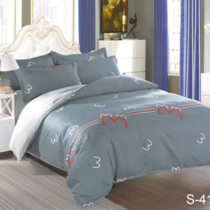 Комплект постельного белья с компаньоном S417  ПОСТЕЛЬНОЕ БЕЛЬЕ ТМ TAG > 2-спальные > Сатин люкс ТМ TAG