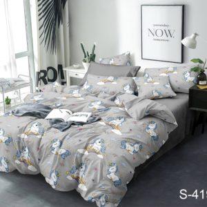 Комплект постельного белья с компаньоном S419  ПОСТЕЛЬНОЕ БЕЛЬЕ ТМ TAG > 2-спальные > Сатин люкс ТМ TAG