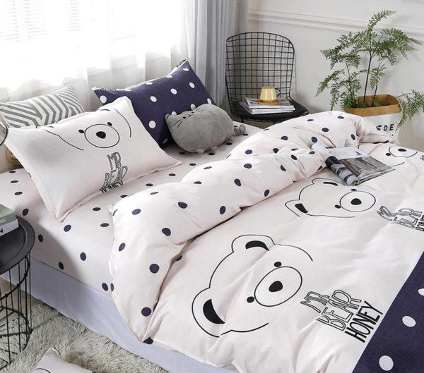 Комплект постельного белья с компаньоном S420 1 Постельный комплект