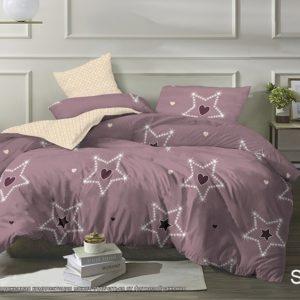 Комплект постельного белья с компаньоном S423  ПОСТЕЛЬНОЕ БЕЛЬЕ ТМ TAG > 2-спальные > Сатин люкс ТМ TAG