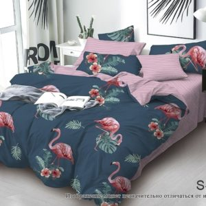 Комплект постельного белья с компаньоном S425  ПОСТЕЛЬНОЕ БЕЛЬЕ ТМ TAG > 2-спальные > Сатин люкс ТМ TAG