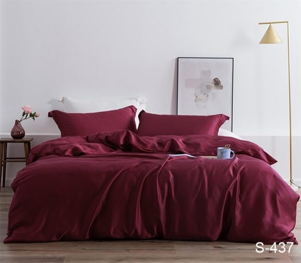 Комплект постельного белья S437  ПОСТЕЛЬНОЕ БЕЛЬЕ ТМ TAG > 2-спальные > Сатин люкс ТМ TAG