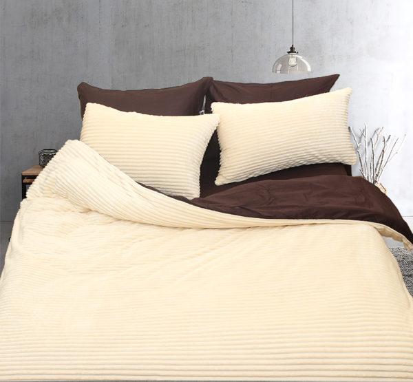 Комплект постельного белья зима-лето Beige 1 Постельный комплект