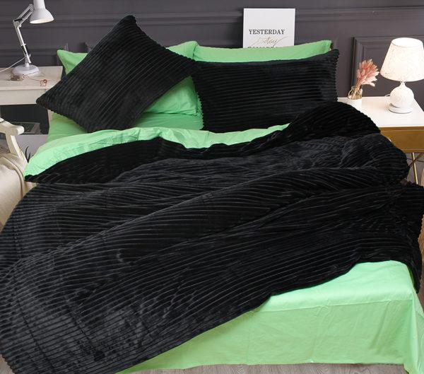 Комплект постельного белья зима-лето Black 1 Постельный комплект
