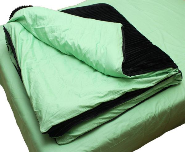 Комплект постельного белья зима-лето Black 4 Постельный комплект