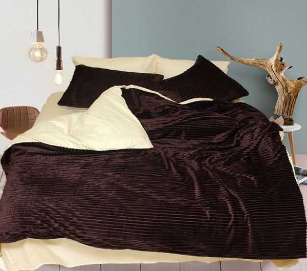 Комплект постельного белья зима-лето Brown 1 Постельный комплект