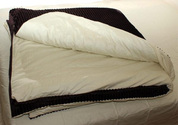 Комплект постельного белья зима-лето Brown 4 Постельный комплект
