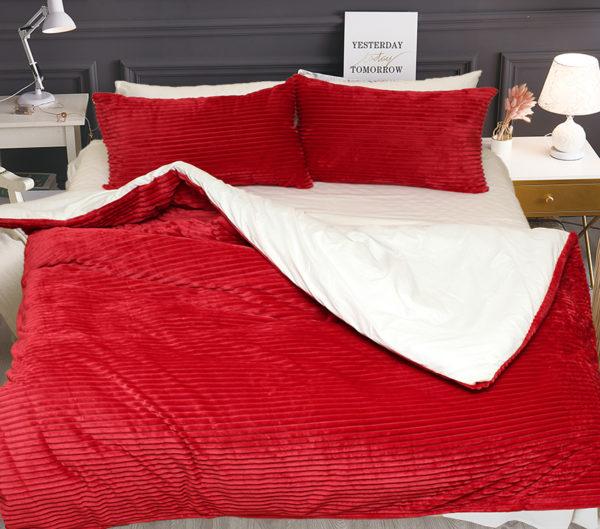 Комплект постельного белья зима-лето Red 1 Постельный комплект