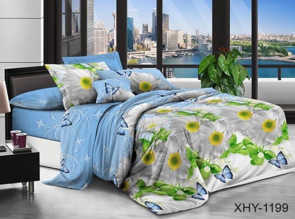 Комплект постельного белья XHY1199  ПОСТЕЛЬНОЕ БЕЛЬЕ ТМ TAG > 2-спальные > Поликоттон 3D