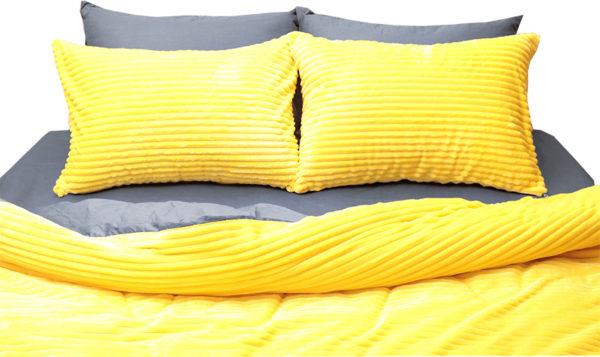 Комплект постельного белья зима-лето Yellow 1 Постельный комплект